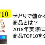 せどりで儲かる商品とは?2018年実際に売った商品TOP10を公開!